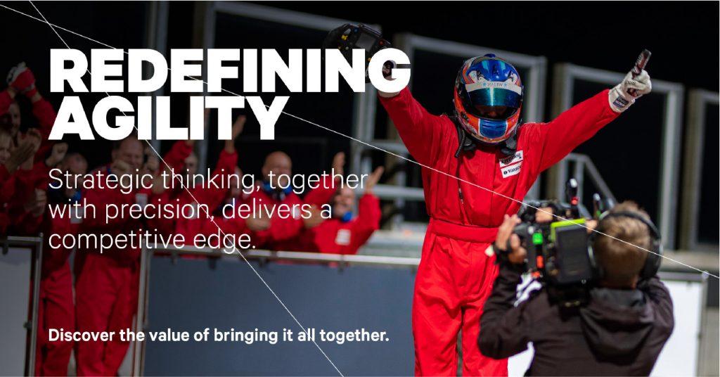 Redefining agility
