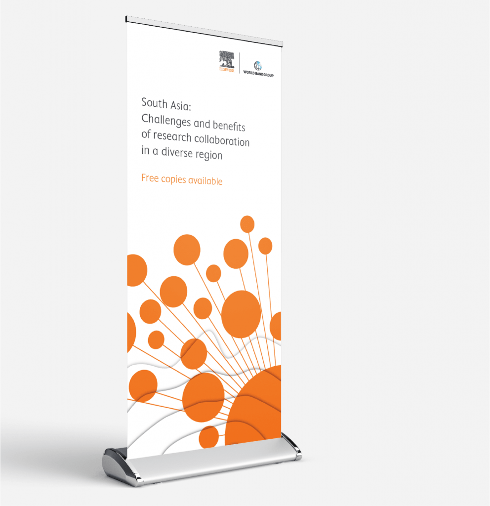 Set of images showing various collateral created to promote the report.